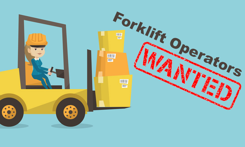 Forklift Positions – Direct Hire, Immediate Openings!