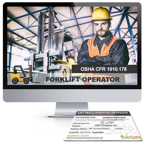 Forklift Certification Training Online