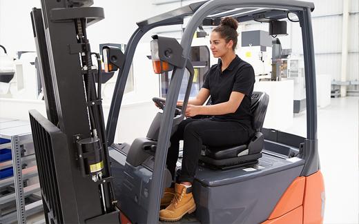 Forklift Training - Spanish