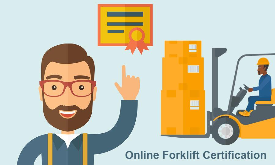 Online Forklift Certification Is It Your Best Forklift Training