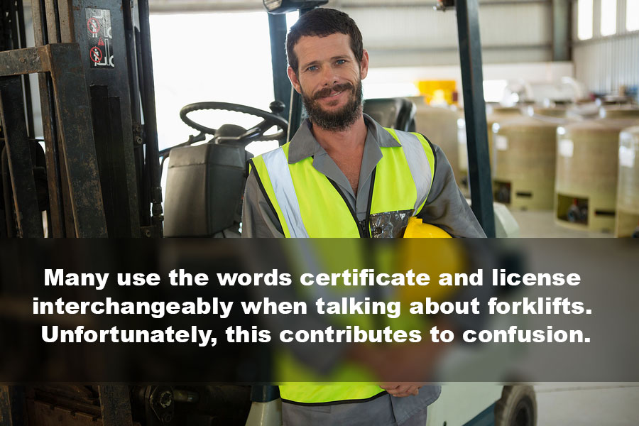 Can I Get A Forklift License Online What You Need To Know