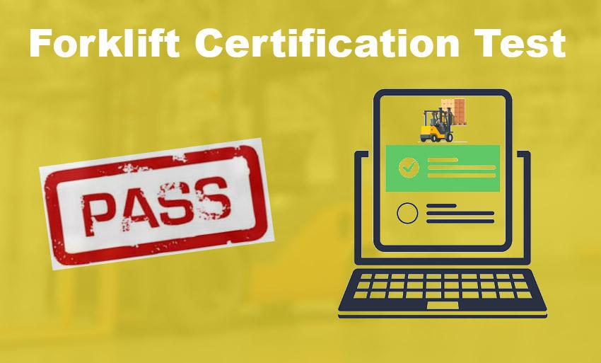 forklift certification test