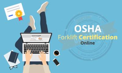 OSHA Forklift Certification Online