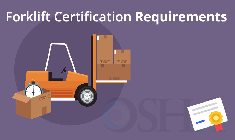Forklift Certification Requirements