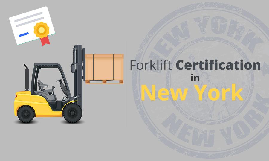 Forklift Certification in New York