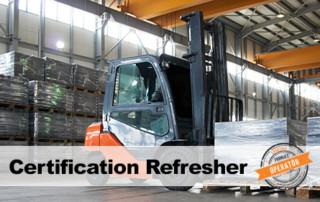 Forklift Certification Refresher