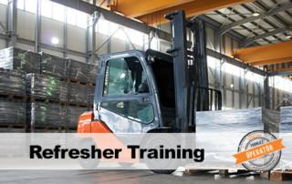 Forklift Operator Refresher Training