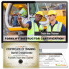 Forklift Instructor Online Training Program